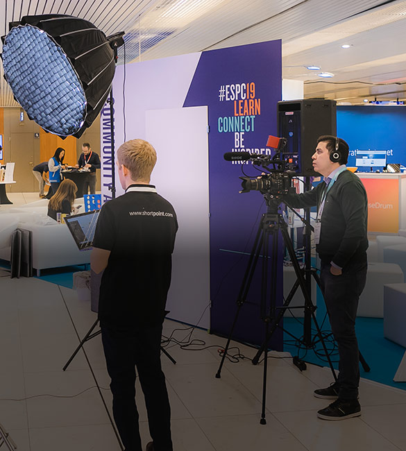 Conference Event video production in Prague